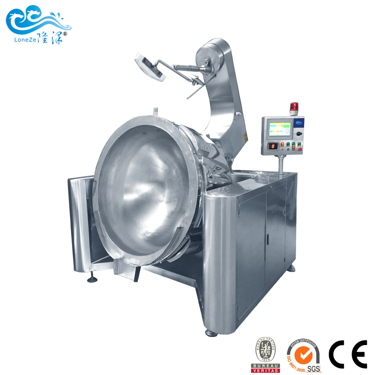 PLC电磁炒菜机