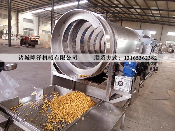 爆米花流水线,爆米花生产线,爆米花设备,爆米花成套设备,爆米花机,山东隆泽机械