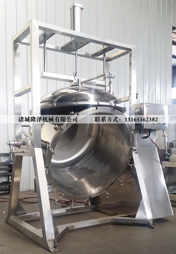 纳豆蒸煮锅_糖纳豆蒸煮锅_纳豆蒸煮锅厂家_山东隆泽机械
