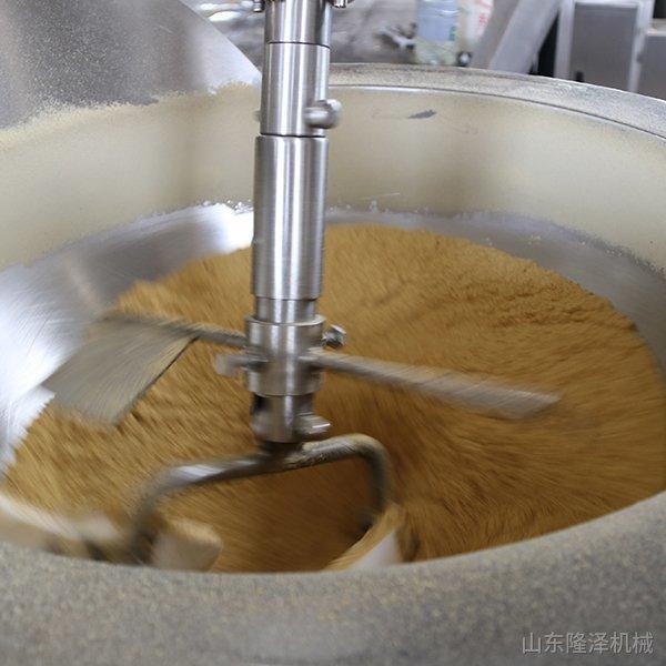 炒干面粉机器